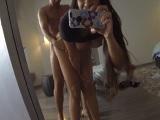 Mereces Carrera se graba con el móvil y hace un buen porno casero - Actrices Porno