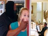 La rubia AJ Applegate follada por un ladrón negro muy dotado - Interracial