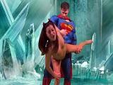 Superman follando a una chica, menuda kryptonita que tiene en la polla.. - Videos Porno