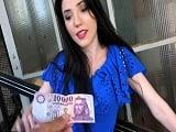 Otra chica veinteañera que se pone a follar por dinero.. - Amateur
