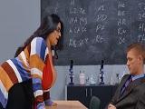Tremendas tetas de la profesora de economía, son tremendas! - Tetonas
