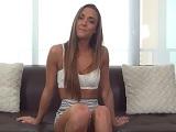 Una chica fitness viene a probar a un casting porno, que tía! - Casting Porno