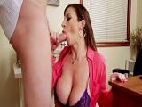 Sara Jay, la secretaria puta que se folló al jefe un par de veces - Actrices Porno