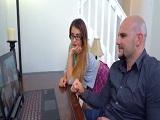Vanessa Phoenix se tira a su padre en el estudio de casa - Incestos
