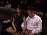 Estos japoneses no se cortan ni follando en el cine - Asiáticas