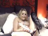 Alexis Texas pillada en su webcam con un enorme consolador - Amateur
